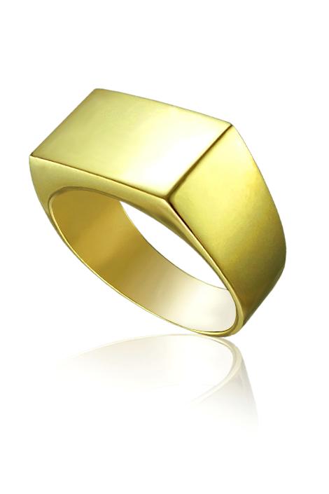 Zlaty Pansky Pecetni Prsten Kvalitni Ceske Sperky A Bizuterie Za